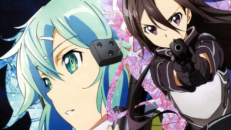 """""""Sword Art Online II"""" presents new character Sinon in the new game Gun Gale Online. Main character Kirito returns to investigate the mysterious deaths of players who died in real life after being shot in GGO. Photo courtesy of anime.anonforge.com."""