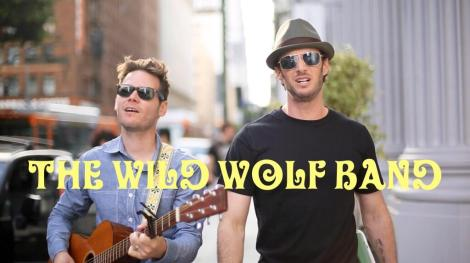 Wild (L) and Wolf (R) shared this photo on the band's Twitter page to promote a music video. Photo credit to http://www.twitter.co/TheWildWolfBand