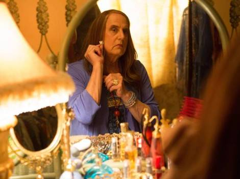 """Transparent"" stars Jeffrey Tambor as a gender-transitioning parent. The pilot is available for streaming on Amazon.com. Image from independent.co.uk"