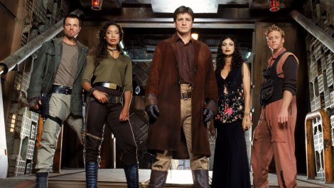 """Joss Whedon's space-western """"Firefly"""" was cancelled in 2003 after just one season on air. Photo courtesy of blastr.com"""