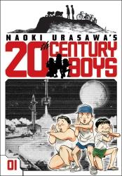 The first volume of 20th Century Boys by Naoki Urasawa. Courtest of nikkeivoice.ca.
