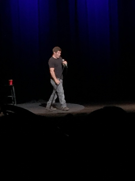 "Adam DeVine starts his show by saying ""Let's get weird."" Photo by Kimberley Carmona"