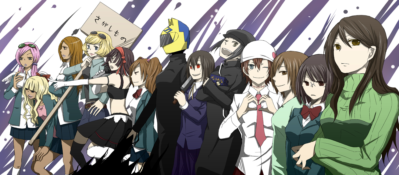 5 reasons why you should watch durarara shuffle online