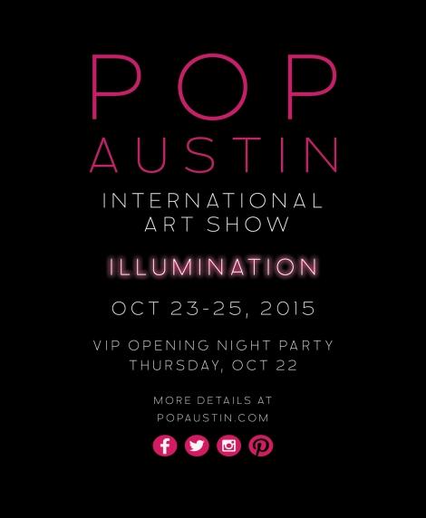 POP Austin promo flier