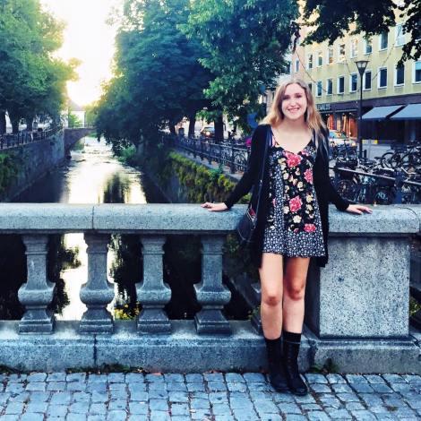 Me in Uppsala, Sweden