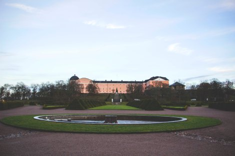 Castle Uppsala in Sweden