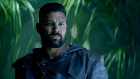"Allanon from ""The Shannara Chronicles,"" played by Manu Bennett"