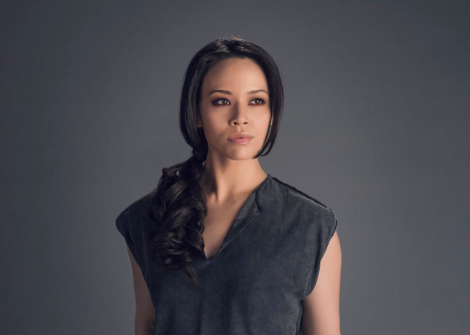 "Two from ""Dark Matter,"" played by Melissa O'Neil"