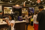 Ghirardelli had an incredibly impressive booth.