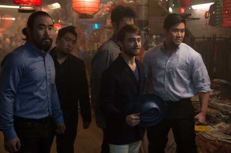 Daniel Radcliffe stars as 'Walter Mabry' in NOW YOU SEE ME 2. Photo Credit: Jay Maidment