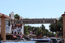 Entrance to the Fort Worth Stock Yards / Photo by Parker Conley