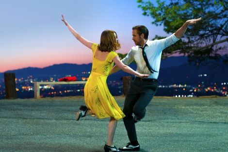 """Emma Stone and Ryan Gosling in """"La La Land""""   Photo courtesy of Lionsgate"""