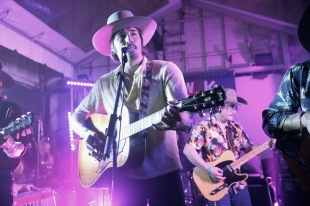 Mark Wystrach of Midland performs on stage at The Big Machine Label Group Showcase at TuneIn Studios @ SXSW 2017 on Friday, March 17th 2017 in Austin, TX. (Photo by Robin Marchant/Getty Images for TuneIn)