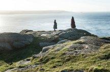Varys (Conleth Hill) and Melisandre (Carice Van Houten)   Photo credit: Helen Sloan/HBO